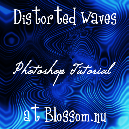 Distorted Waves Photoshop Tutorial