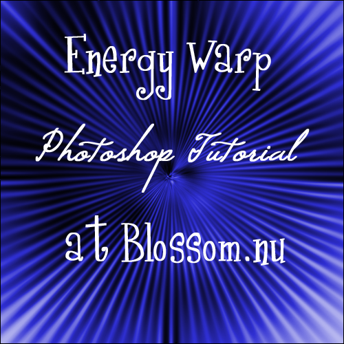 Energy Warp Photoshop Tutorial