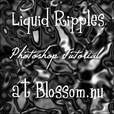 Liquid Ripples Photoshop Tutorial
