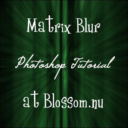 Matrix Effect Photoshop Tutorial