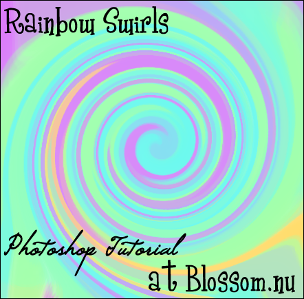 Rainbow Swirls Tutorial