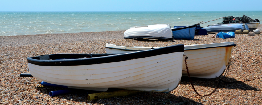 On the Sussex coast