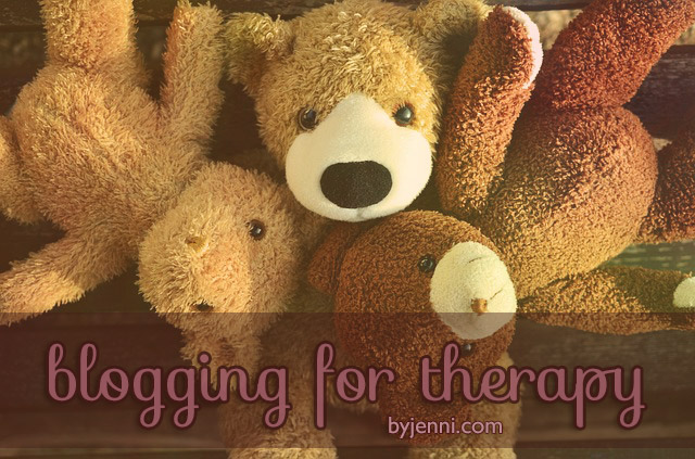 Therapuetic blogging