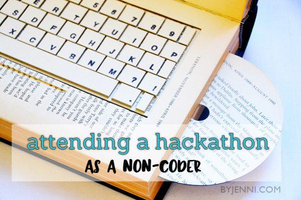 Attending a hackathon as a non-coder