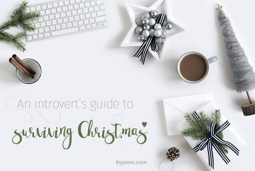 An introvert's guide to surviving Christmas