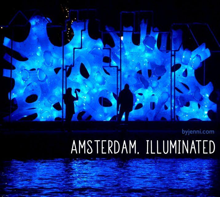 Amsterdam, illuminated
