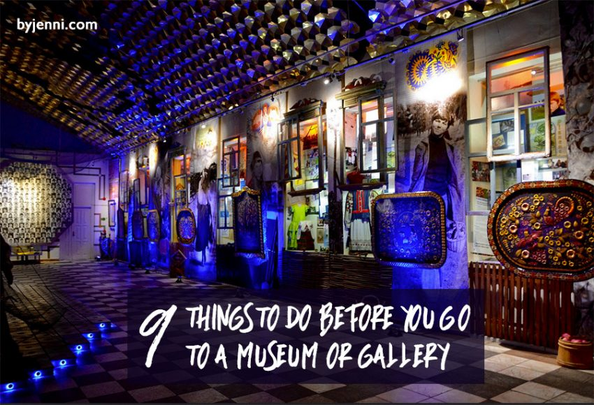 9 things to do before you visit a museum or gallery