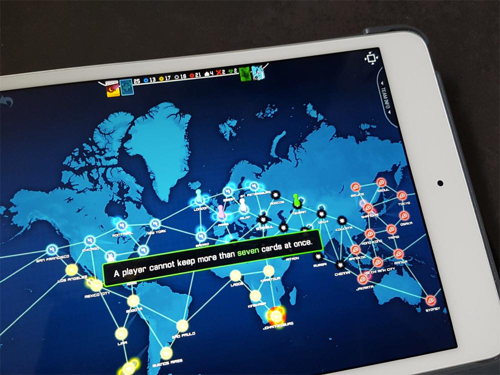 Pandemic iPad app