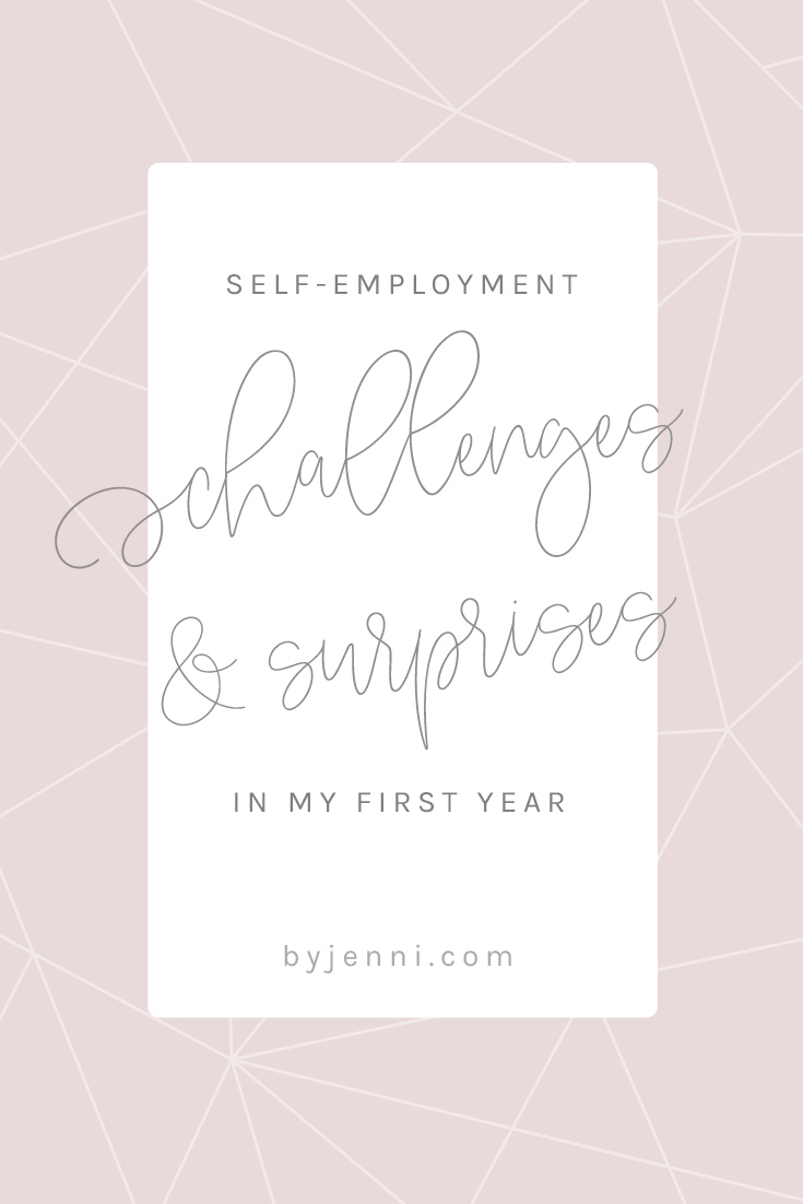 The challenges and surprises of my first year self-employed